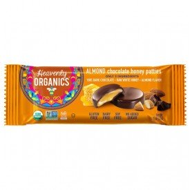 Heavenly Organics Honey Patties Almond Chocolate