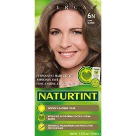 NaturTint Permanent Hair Colour Dark Blonde 6N
