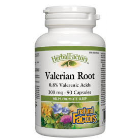 Natural Factors Valerian Extract 300mg