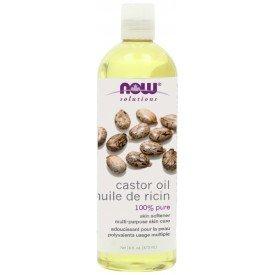 NOW Castor Oil Expeller Pressed