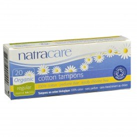 Natracare Tampons Regular Non-Applicator Org.