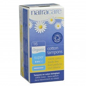 Natracare Tampons Super Applicator Org.