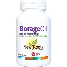 New Roots Borage Oil Certified Organic