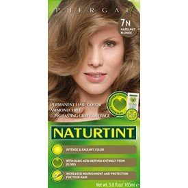 NaturTint Permanent Hair Colour Hazelnut Blonde 7N