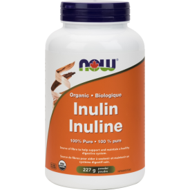 NOW Inulin 100% Pure Powder