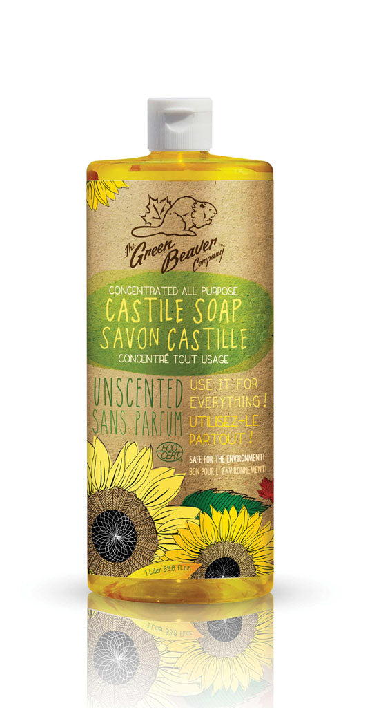 Green Beaver Sunflower Castile Soap Unscented
