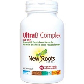 New Roots Ultra B Complex 100mg Flush Free