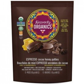 Heavenly Organics Honey Patties Espresso Chocolate