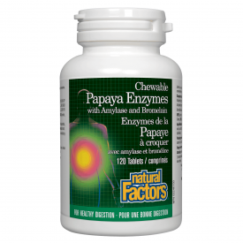 Natural Factors Papaya Enzyme Chewable