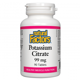 Natural Factors Potassium Citrate 99mg