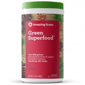 Amazing Grass Berry Green SuperFood 60 Servings