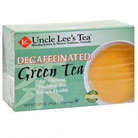 Uncle Lees Tea Decaffeinate Green Tea Org.