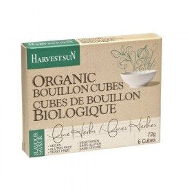 Harvest Sun Herbal Bouillon Cubes Vegan Org.