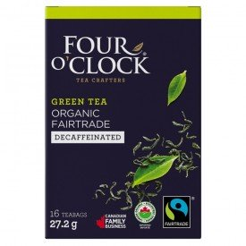 Four OClock Decaf. Green Tea Org.