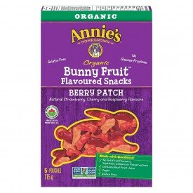 Annies Homegrown Bunny Fruit Snack Berry Patch Org.