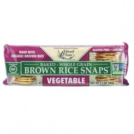 Edward and Sons Brown Rice Snaps Vegetable Org.
