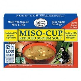 Edward and Sons Miso Soup Reduced Sodium 4 pack