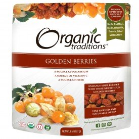 Organic Traditions Golden [Inca] Berries