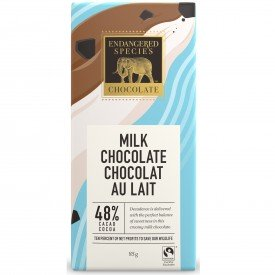 Endangered Species Milk Chocolate Bar Smooth Otter (Pg)
