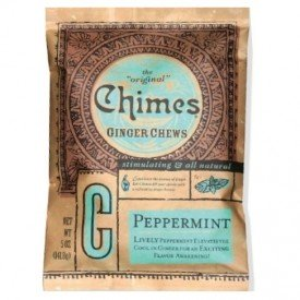 Chimes Gourmet Ginger Chews Peppermint