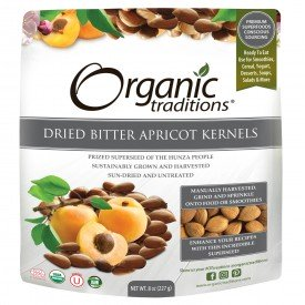 Organic Traditions Apricot Kernels Bitter
