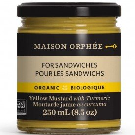 Maison Orphee Yellow Mustard with Tumeric
