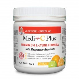 Preferred Nutrition Medi-C Plus Calcium Lysine Vitamin C Citrus