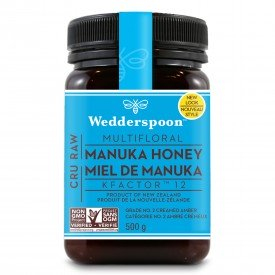 Wedderspoon Raw Manuka Honey KFactor 12