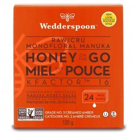 Wedderspoon Manuka Honey Pops Variety Pack Org.