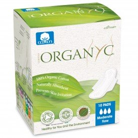 Organyc Pads Moderate Flow