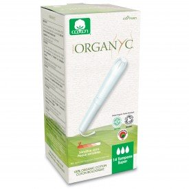 Organyc Tampons W/applicator Super