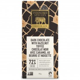 Endangered Species Chocolate Bar Hazelnut Toffee Rhino