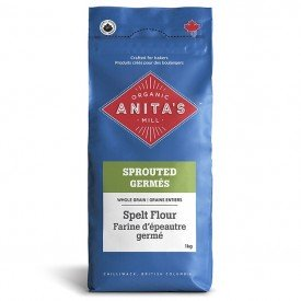 Anitas Organic Mill Sprouted Whole Grain Spelt Flour Org.