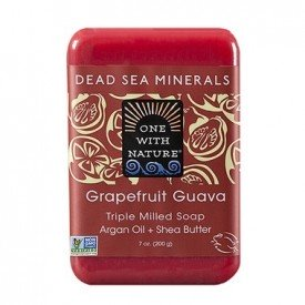 One with Nature Grapefruit Guava Bar Soap