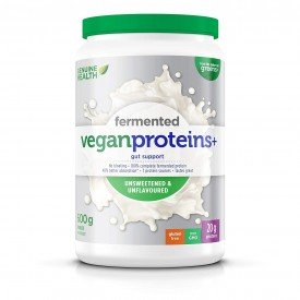 Genuine Health Fermented Vegan Proteins+ Unsweetened &Unflavoured Org.