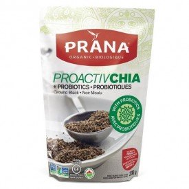 Prana Proactive Chia Seeds Ground Black