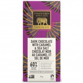 Endangered Species Chocolate Bar Sea Salth & Almond Owl