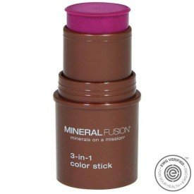 Mineral Fusion 3 In 1 Color Stick Berry Glow