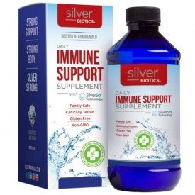 Silver Biotics  Silver Daily Immune Support Supplement