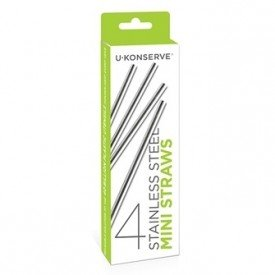 Ukonserve Stainless Steel Straws Mini