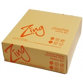 Zing Vitality Bar Peanut Butter Chocolate Chip