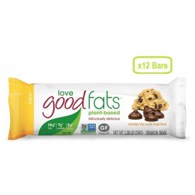 Love Good Fats Snack Bar Chocolate Chip Cookie Dough