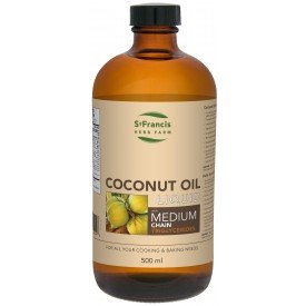 St Francis Herb Farm Coconut Oil with Mct