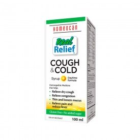 Homeocan Real Relief Cough & Cold Syrup Daytime