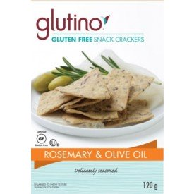 Glutino Rosemary Olive Oil Crackers