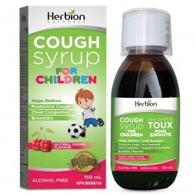 Herbion Canada All Natural Cherry Cough Syrup Kids