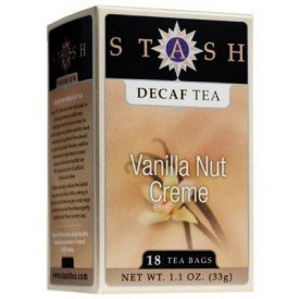 Stash Tea Decaf Vanilla Nut Creme Tea