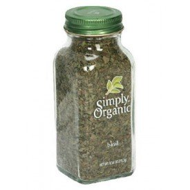 Simply Organic Bottled Spice Sweet Basil Leaf