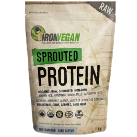 Iron Vegan Sprouted Protein Unflavoured