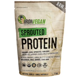 Iron Vegan Sprouted Protein Vanilla
